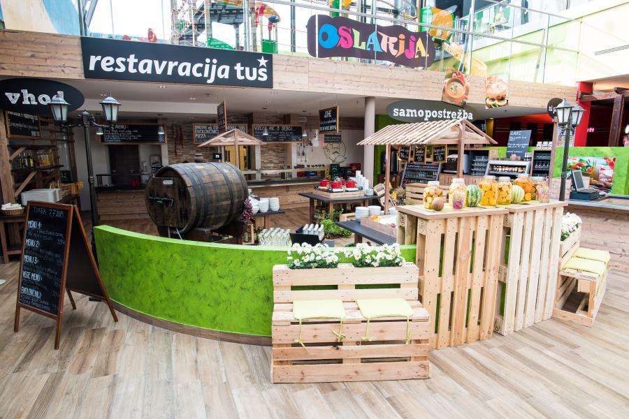 Restavracije In Nakupovalni Centri Izris Postavitev Dizajn Notranje Opreme